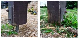 Termite control - pergola posts